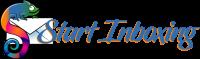 Start Inboxing Logo - envelope with chameleon